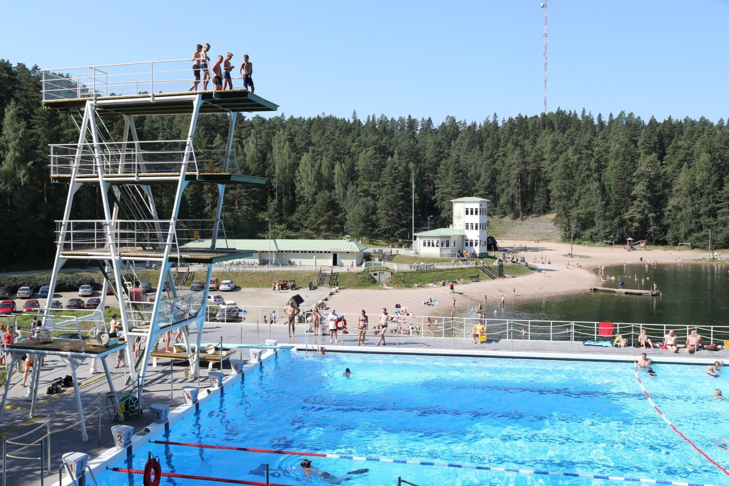 picture of Ahvenisto outdoor pool