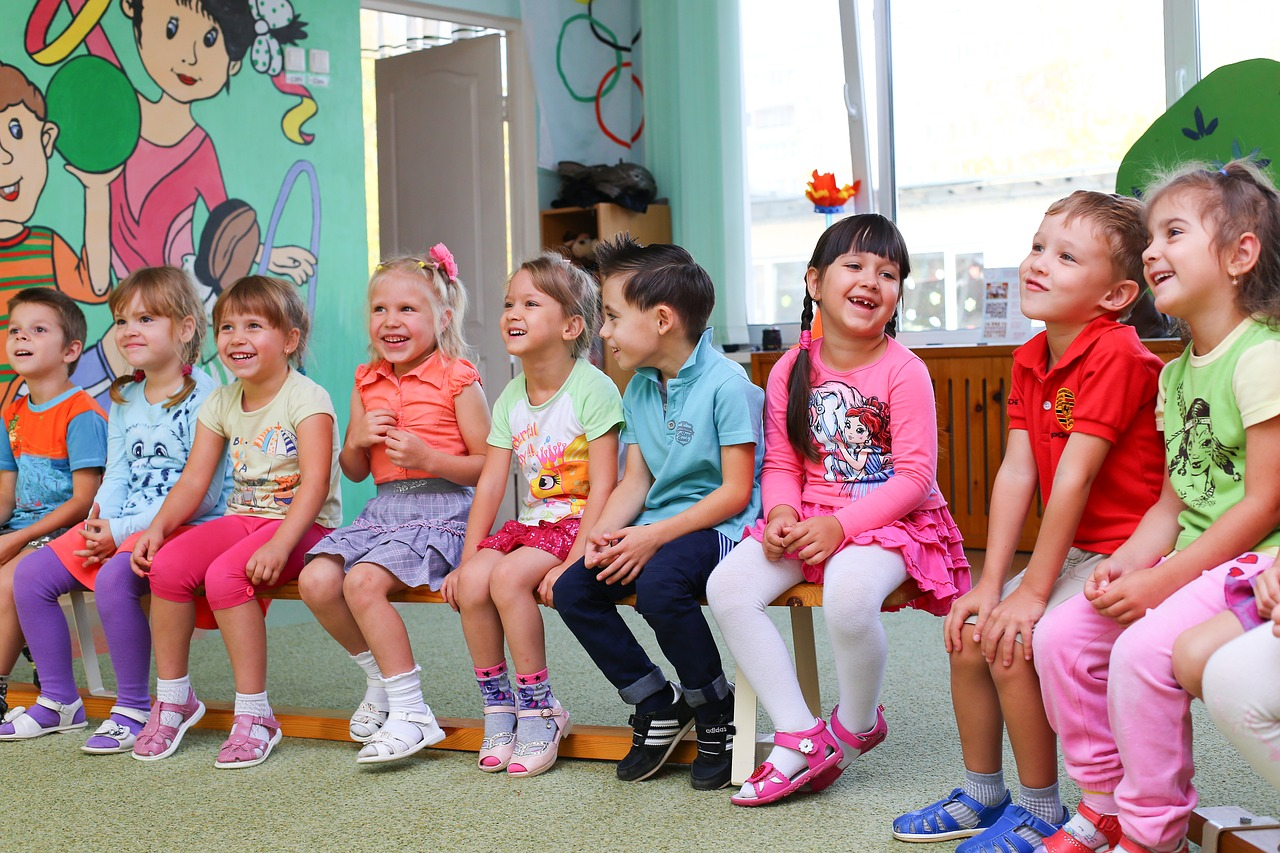 Children from the daycarepsia