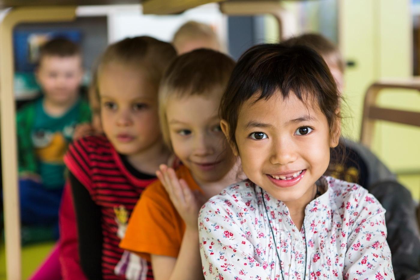Девочки в детском саду