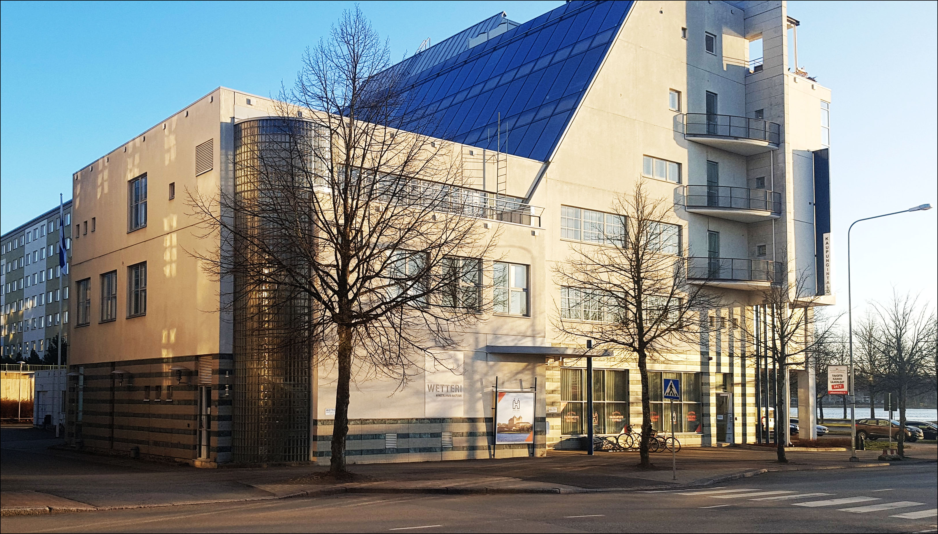 Kuvassa Hämeenlinnan kaupungin talo